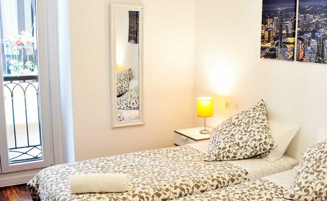 Double room with shared bathroom - Old City House Rooms - San Sebastián