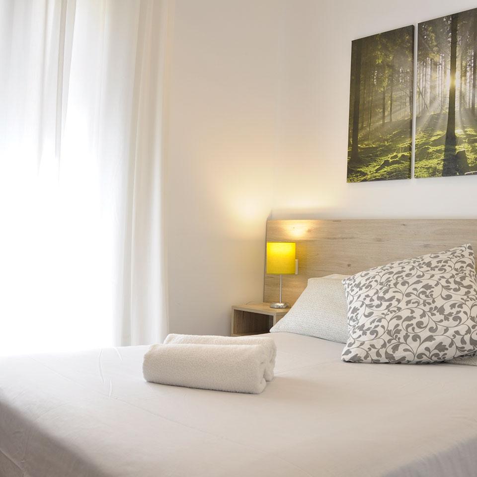Double room with shared bathroom - Old City House Rooms - San Sebastián