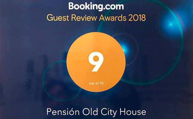 booking.com points to Old City House